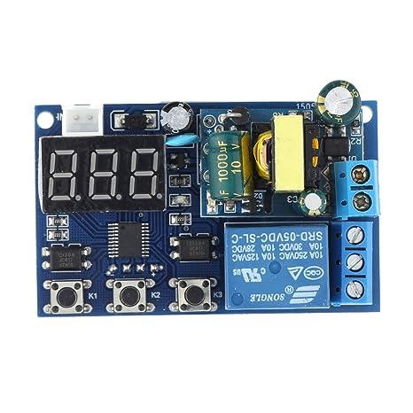 Schema Elettrico Per Temporizzatore : Kkmoon ac 220v led visualizzazione automazione digitale