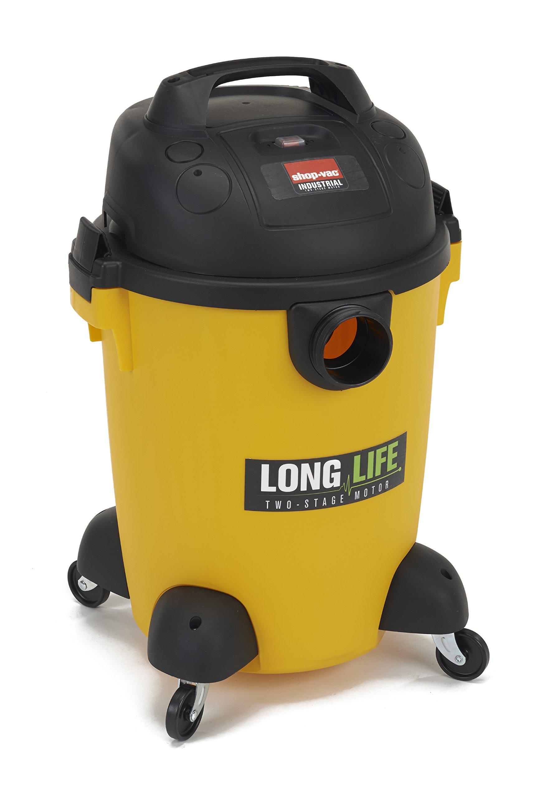 Shop-Vac 9272610 2.0 Peak HP Long Life Wet Dry Vacuum, 6-Gallon