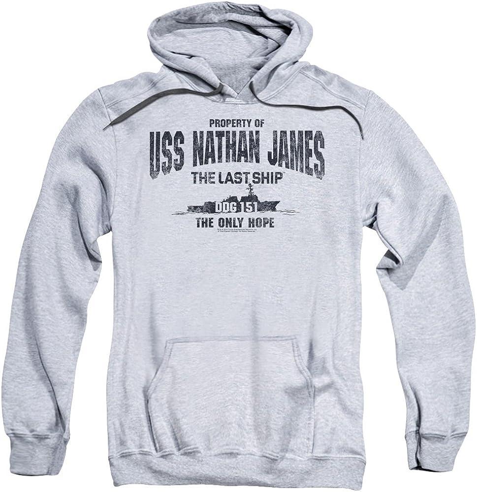 Le dernier navire Uss Nathan James Sweat à capuche pour