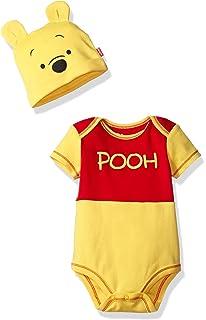 Disney Boys Winnie the Pooh Bodysuit with Cap Set