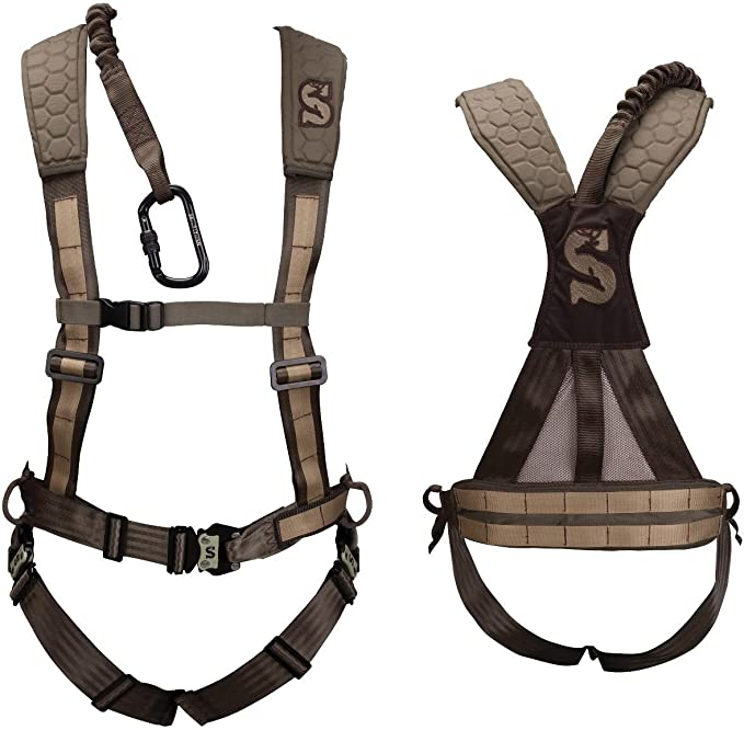 Summit Treestands Pro Sport Safety Harness Size Large Black 83089