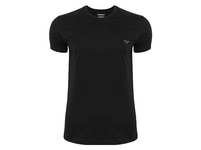 Emporio Armani - Camiseta - para Hombre Black 00020 M