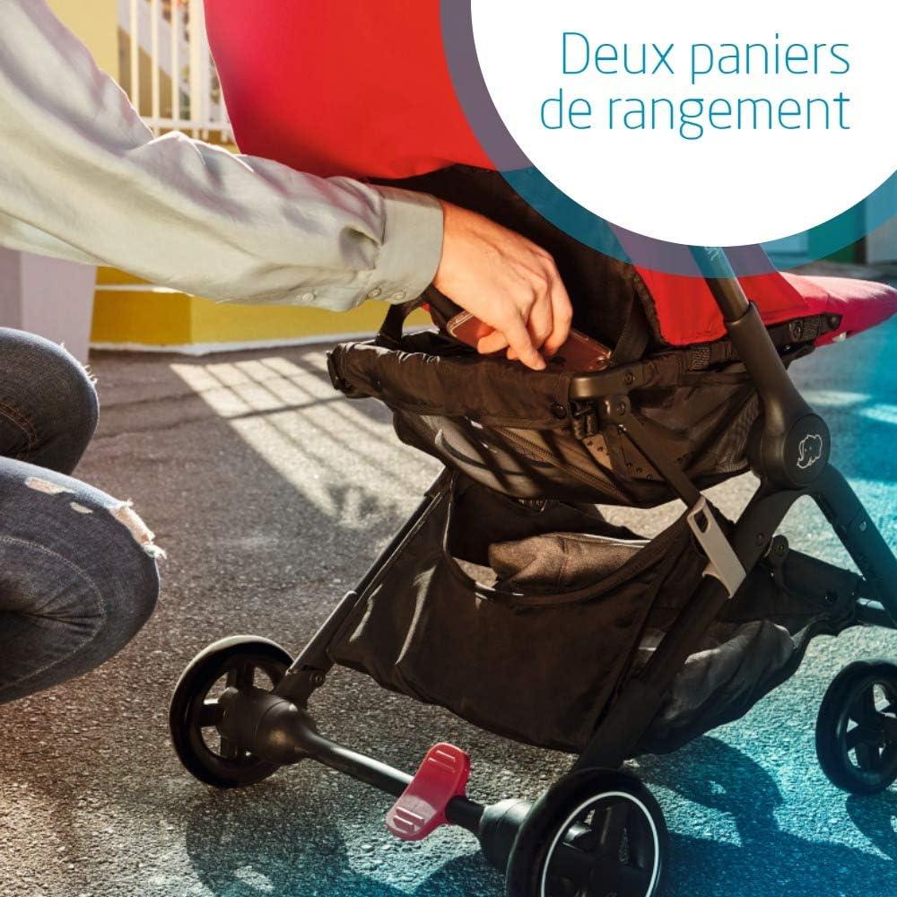 Essential Graphite 0-15 kg B/éb/é Confort Lara Poussette canne Ultra compacte De la naissance /à 3,5 ans