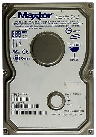 DOWNLOAD DRIVERS: MAXTOR DIAMONDMAX PLUS 9 120GB