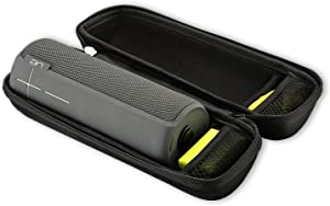 ProCase UE Boom 2 Case, Hard Case Travel Carrying Storage Bag for Ultimate Ears UE Boom 2 / UE Boom Wireless Portable Speaker, Fits USB Cable and Wall Charger -Black