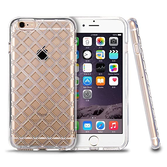 hot sale online 626b6 629d1 Amazon.com: For iPhone 6 6s Case, Roybens Clear Shockproof Flexible ...