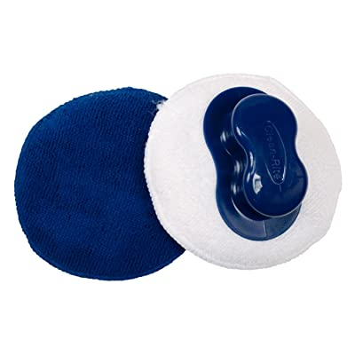 Detailer's Choice 9-513 Microfiber Applicator Pad with Grip Handle - 2-Pack: Automotive