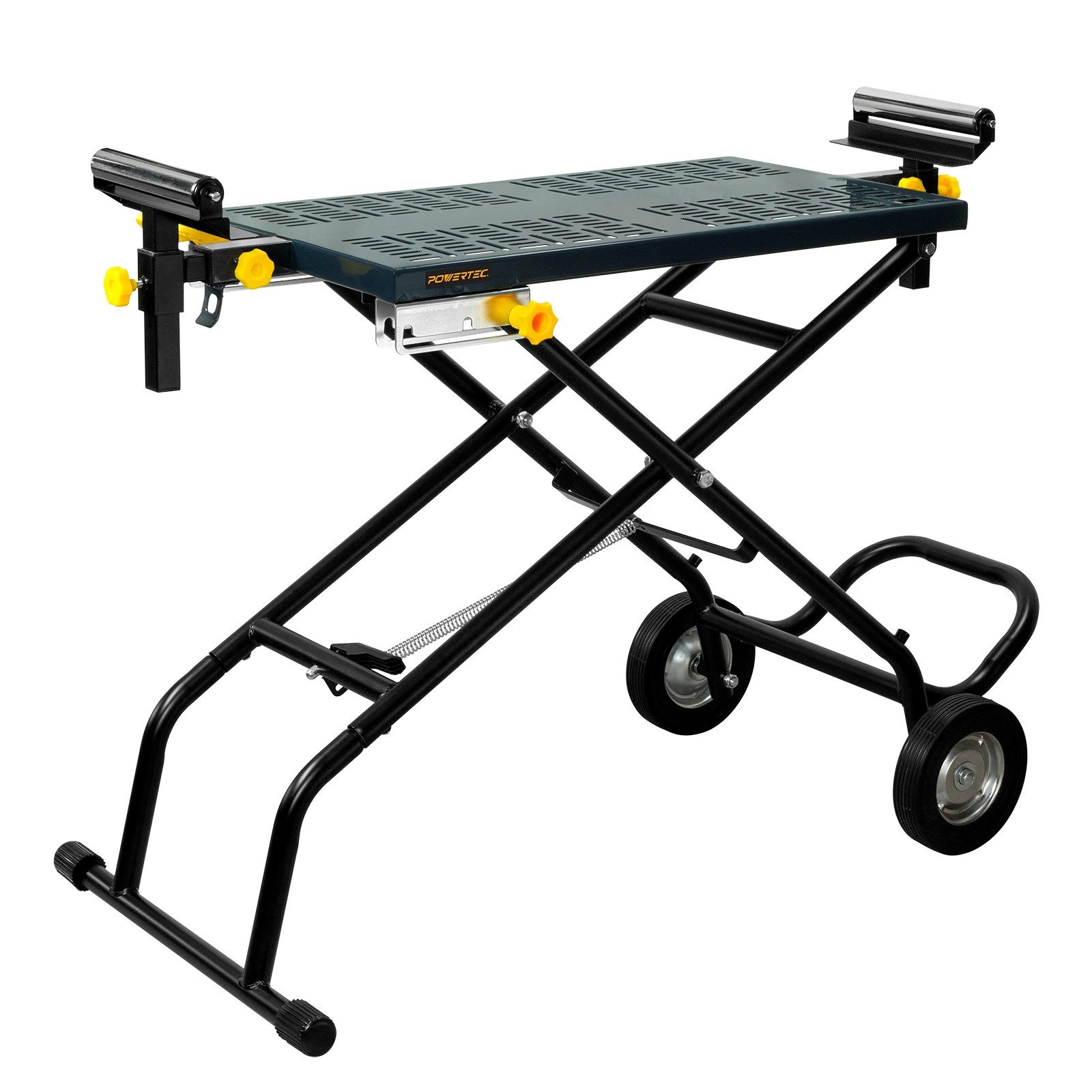 POWERTEC MT4005 Mounting Deluxe Rolling Stand  by POWERTEC