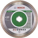 BOSCH Diamanttrennscheibe Standard für Ceramic, 180 x 22,23 x 1,6 x 7 mm, 1-er Pack, 2608602204