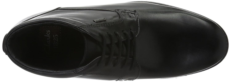 Clarks Hopton Mid GTX, Botines para Hombre, Negro (Black Warm Lined Leather), 39 EU: Amazon.es: Zapatos y complementos