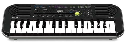 150 opinioni per Casio SA-47 Mini Tastiera, 32 Tasti, Nero/Grigio