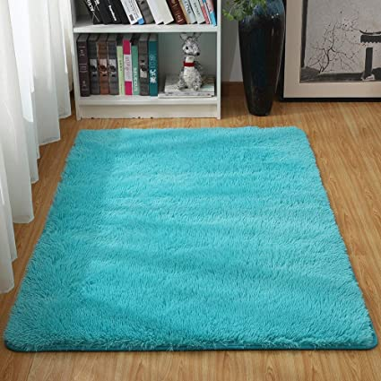 Amazon Com Junovo Ultra Soft Contemporary Fluffy Thick Indoor Area