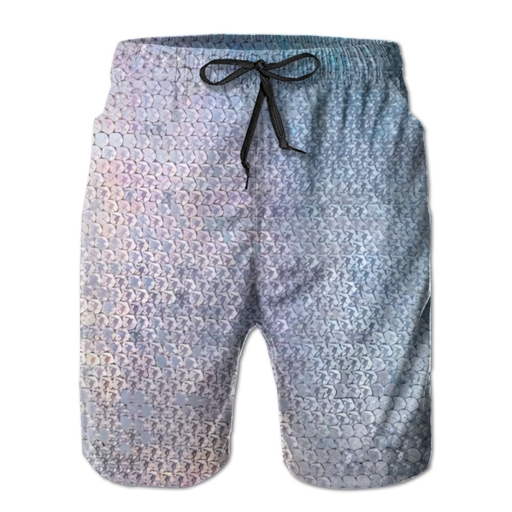 76ff54aab7d Glitter Sparkles Shimmer Mens Slim Fit Ultra Quick Dry Board Shorts ...
