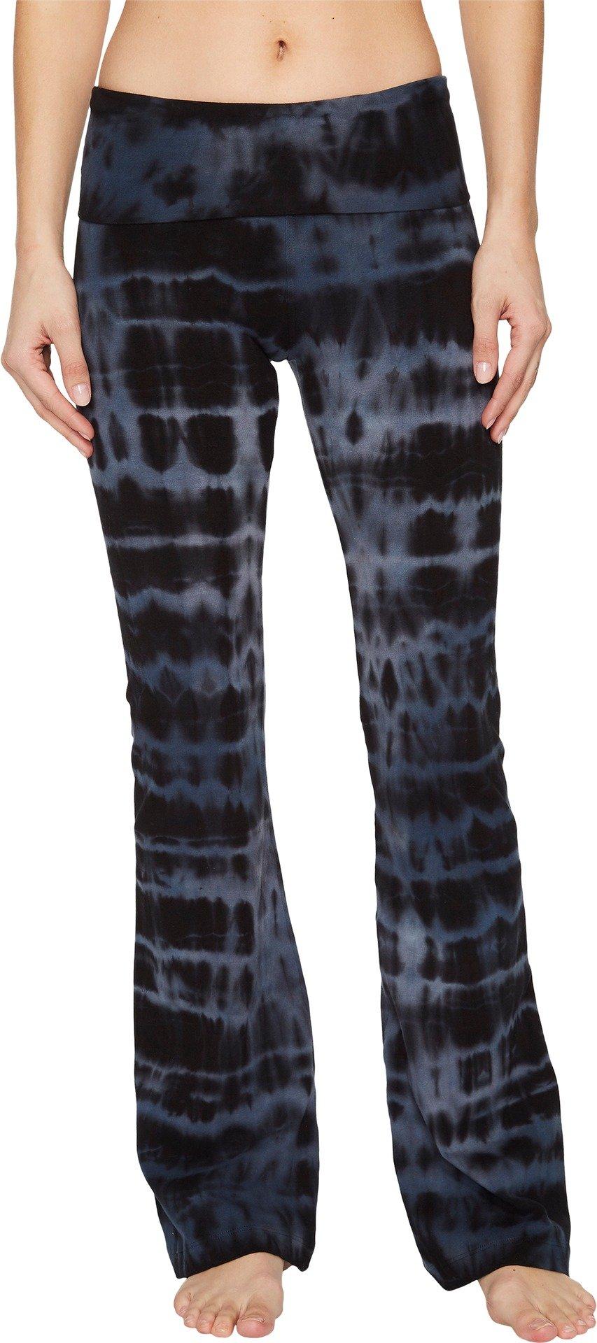 Hard Tail Women's Rolldown Bootleg Flare Pants Cloud Wash 1 Medium