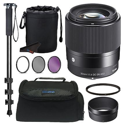 Amazon Com Sigma 30mm F1 4 Contemporary Dc Dn Lens For Sony E