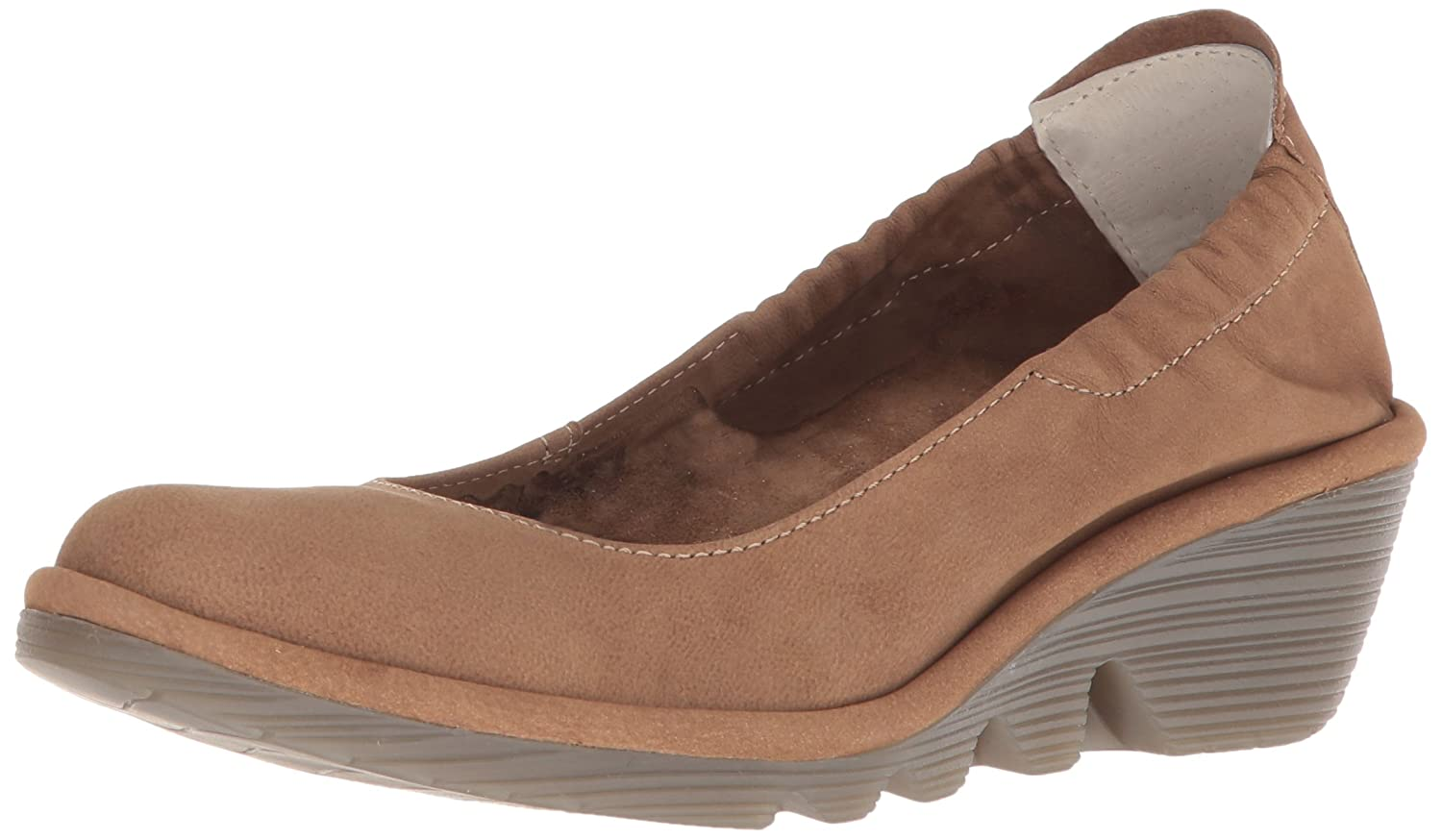 FLY London Women's PLED819FLY Pump B0759Z6HHG 42 M EU|Sand Cupido