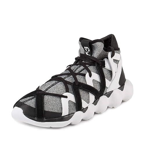 025106ca0 Adidas Y-3 Men s Y-3 Kyujo High Grey Net Sneaker  Amazon.ca  Shoes ...