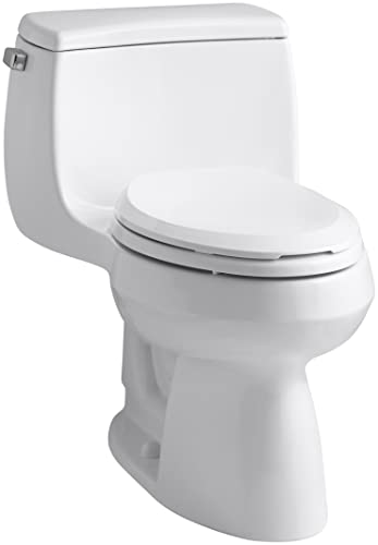 KOHLER K-3615-0 Gabrielle Comfort Height One-Piece Elongated 1.28 GPF Toilet