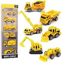 Pequeños Camiones de Juguete Vehículos Excavadora de Aleación