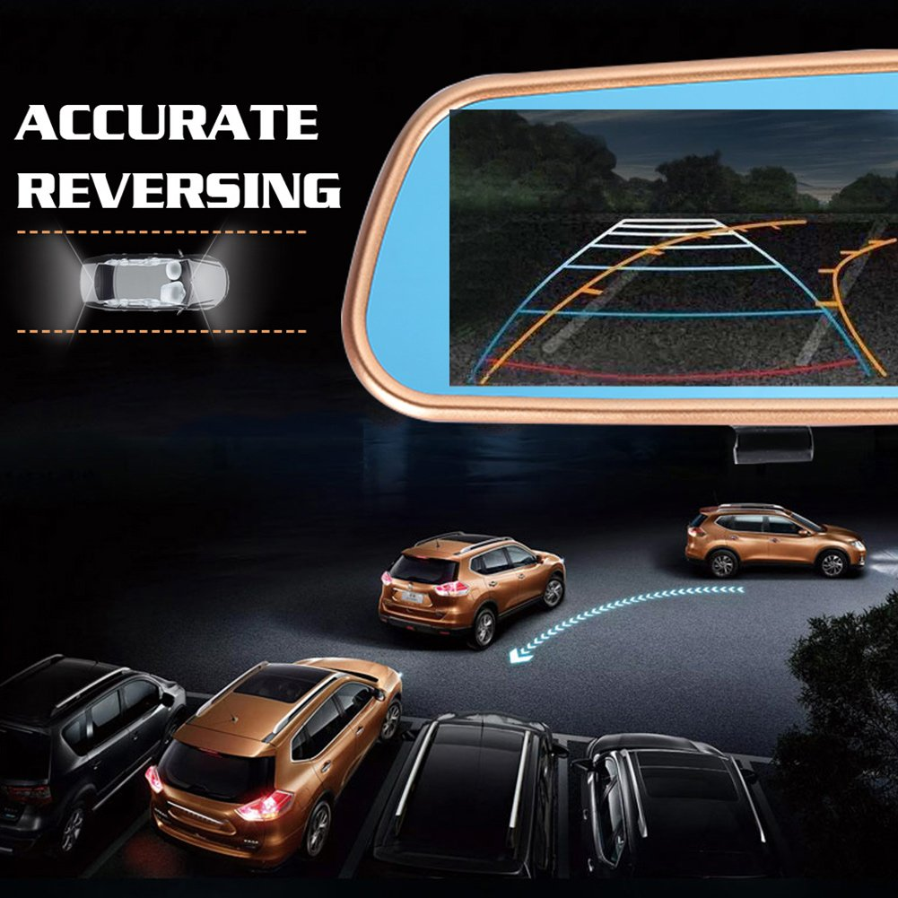 Auntwhale Driving Recorder Camcorder Smart Wide Angle 90 Degree Car Windshield Night Vision 90 by Auntwhale (Image #2)