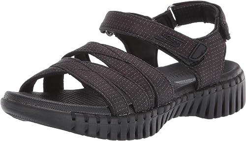 Walter Cunningham Bonito Globo  Skechers Sandalias de tobillo para mujer: Amazon.es: Zapatos y complementos