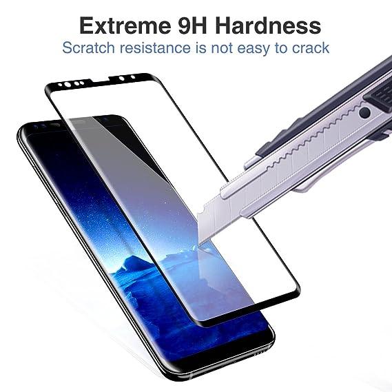 ACETEND OX-AHRB-GP4K - Protector de Pantalla para Samsung Galaxy S9, Cristal Templado, Anti-Burbuja: Amazon.es: Electrónica