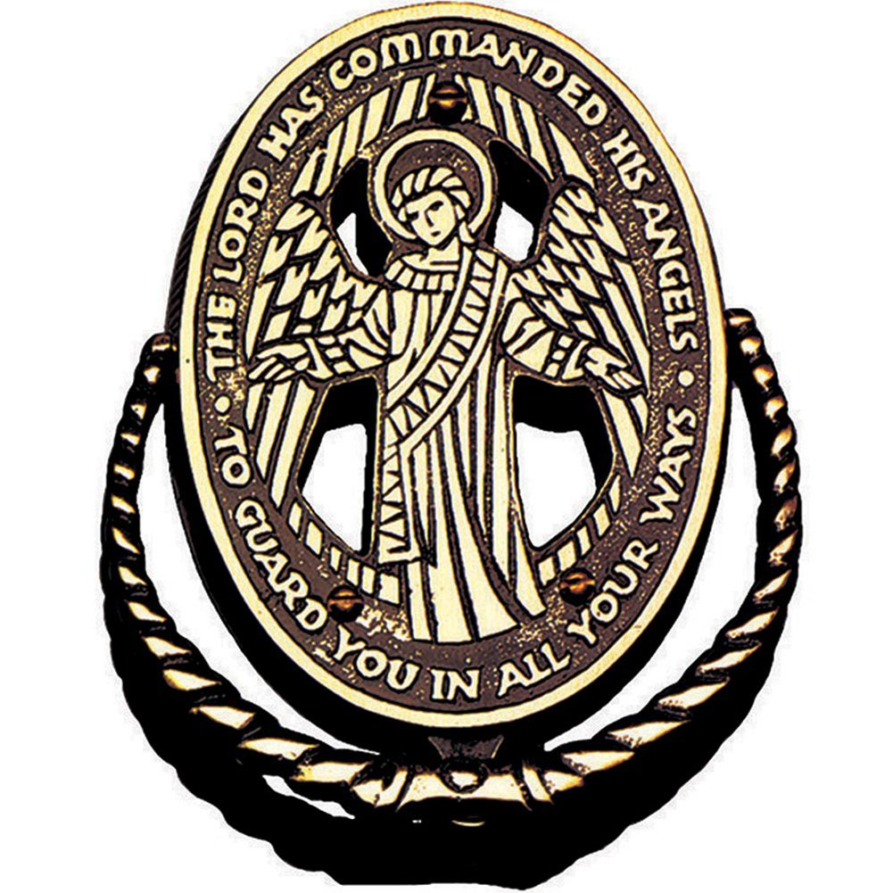823 Guardian Angel Bronze Door Knocker