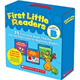 First Little Readers Parent Pack: Guided Reading Level B: 25 Irresistible Books That Are Just the Right Level for Beginning R