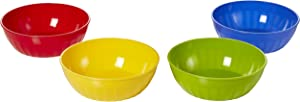 Arrow Home Products, 16-Ounce, 4-Pack Bowls 16 oz (4 Pack), Assorted
