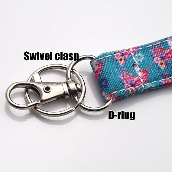 Amazon.com: Unicornio cordón ID Holder cordón de tela de ...