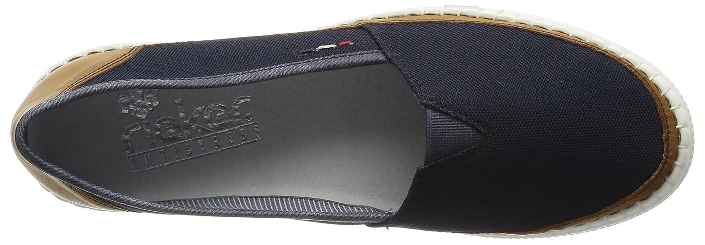 Rieker M2752 Damen Slipper Slipper Damen Blau (Cayenne/Pazifik/25) b6309a