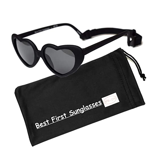 Sweetheart- Best First Sunglasses for Infant, Baby, Toddler. 100% UV Protection