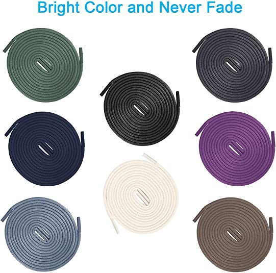Race Ready Shoe Laces Never Have To Tie Again Purple with White Highlights 1 pair Round Locking