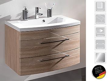 Waschplatz Waschtisch Badezimmerschrank Waschbecken Unterschrank Bad ...