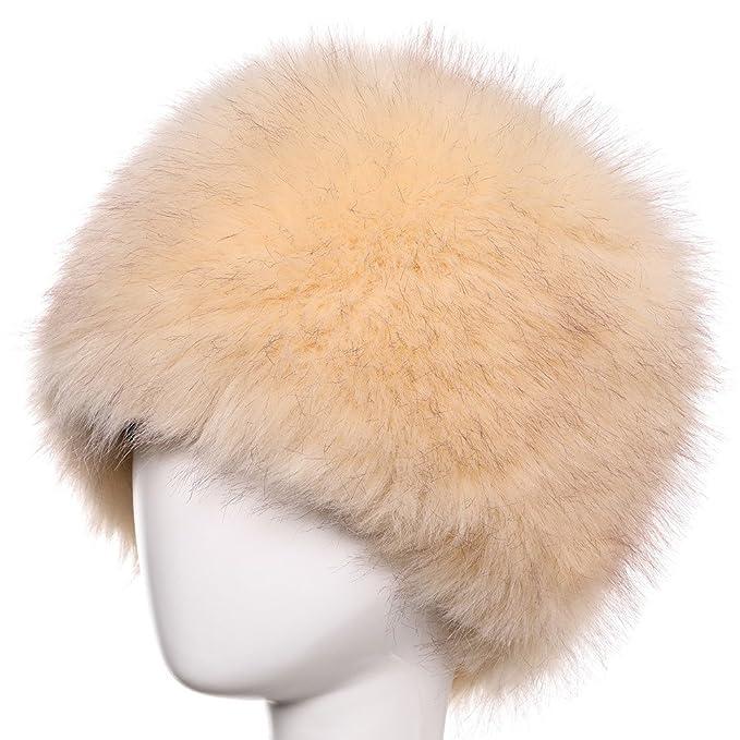 Yetagoo Faux Fur Headband For Women Winter Earwarmer Earmuff Hat Ski 81209a10d44