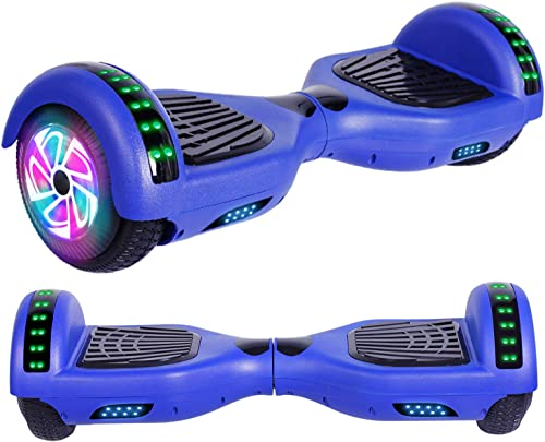 Felimoda Hoverboard, w Bluetooth Speaker for Kid and Adult- UL2272 Certified Blue
