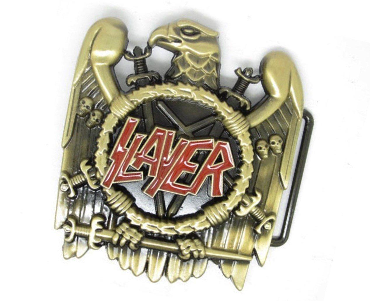 Slayer Rock Music Belt Buckle