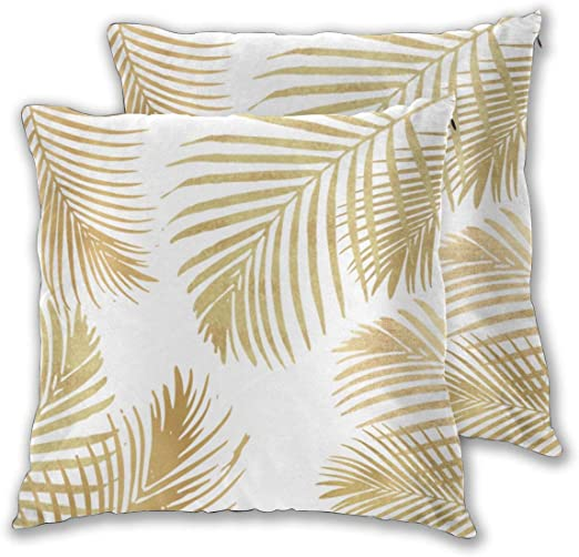 Cushion Covers Pack of 2 Cushion Covers Throw Pillow Cases Shells ...