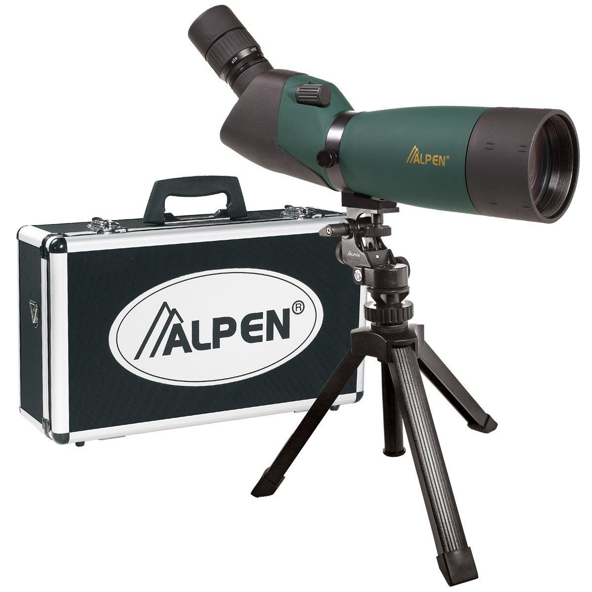 ALPEN 20-60x80 w/45 deg eyepiece Waterproof Fogproof Spotting Scope Kit