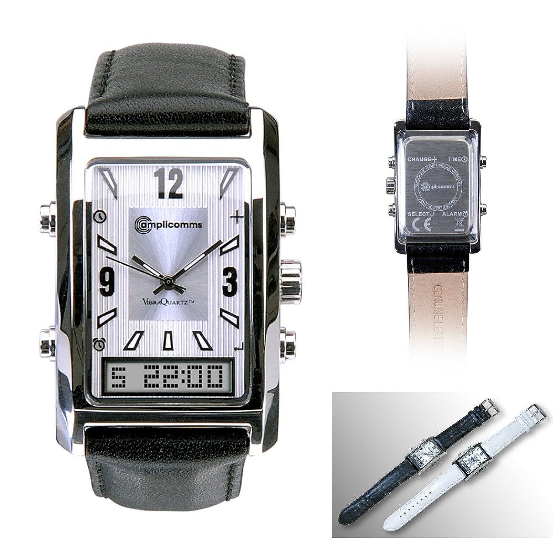 AW 500 G Herrenarmbanduhr mit Vibration Uhr Wecker - schwarz