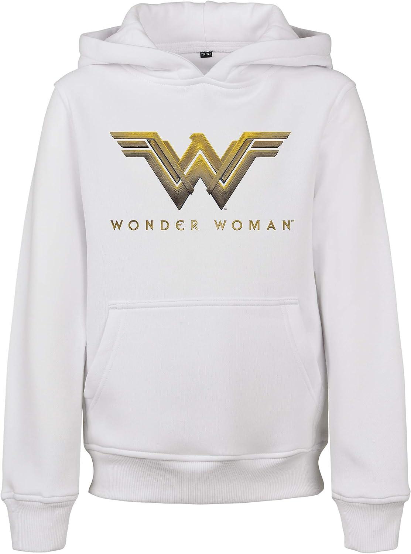 Mister Tee Kids Wonder Woman Logo Hoody Maglia di Tuta Unisex-Adulto