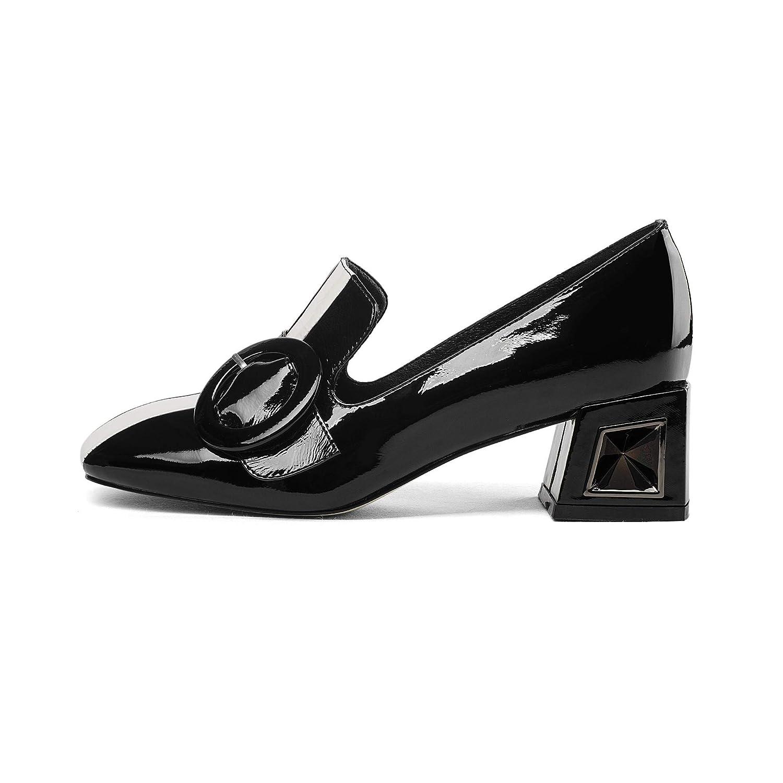 CXQ-Stivali Tacco Largo da Donna con Tacco Tacco Tacco Alto e16b46