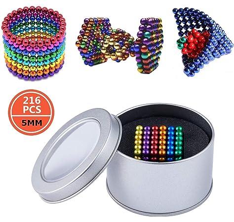 216 magn/ético Bolas 5 mm muchos Colores magn/ético instudrie magn/ético,8 colores 8 colores 216 magn/ético Bolas 5 mm