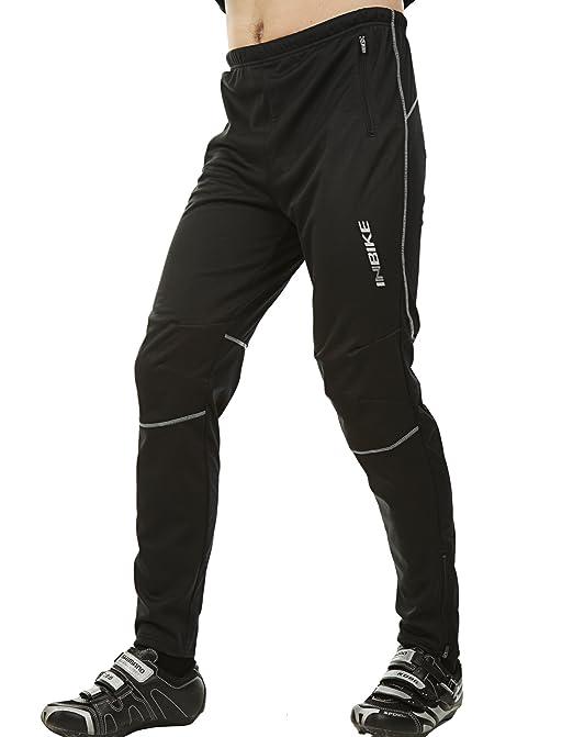 5 opinioni per Inbike Pantaloni Lunghi Termici Invernali per Cicilsmo da Uomo