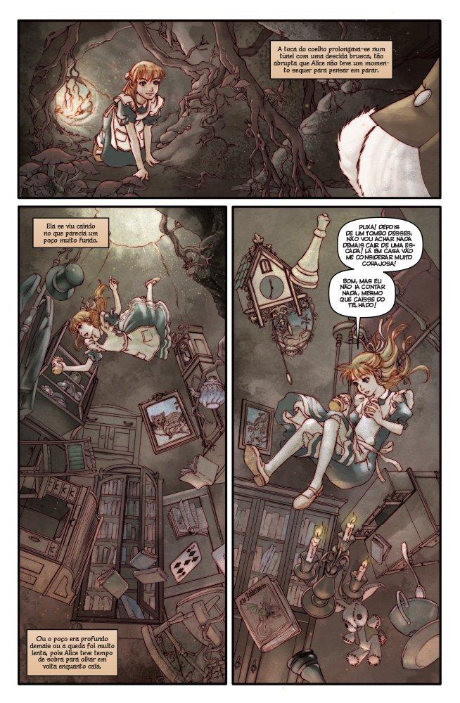 Alice no Pais das Maravilhas (Em Portuguese do Brasil): Lewis Carrol: 9788578671631: Amazon.com: Books