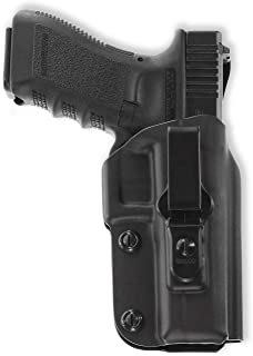 product image for Galco Triton Kydex IWB Holster for Glock 17, 22, 31 (Black, Right-Hand)