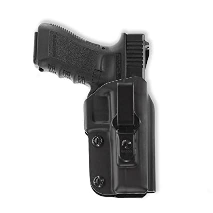 Galco Triton Kydex IWB Holster for Glock 17, 22, 31, Black, Right