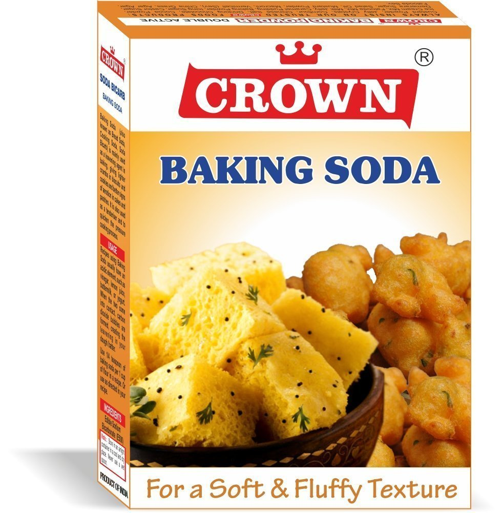 Crown Baking Soda Cooking Soda Soda Bicarb 400g Amazon In Grocery Gourmet Foods