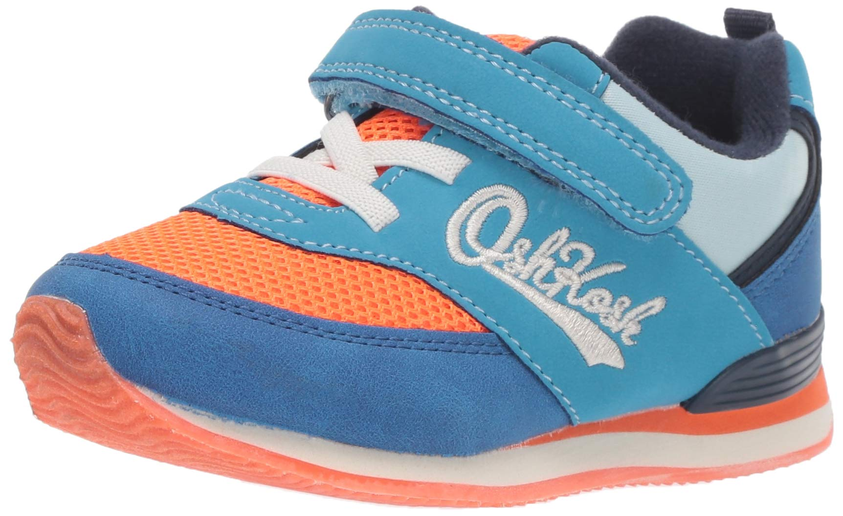 OshKosh B'Gosh Lu Boy's and Girl's Retro Athletic Sneaker, Orange, 9 M US Toddler by OshKosh B'Gosh