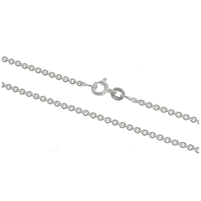 Chaîne à Mailles Jaseron Epaisseur 2mm en Argent 925/1000 - 41 à 61cm jewellerybox HAR-1651